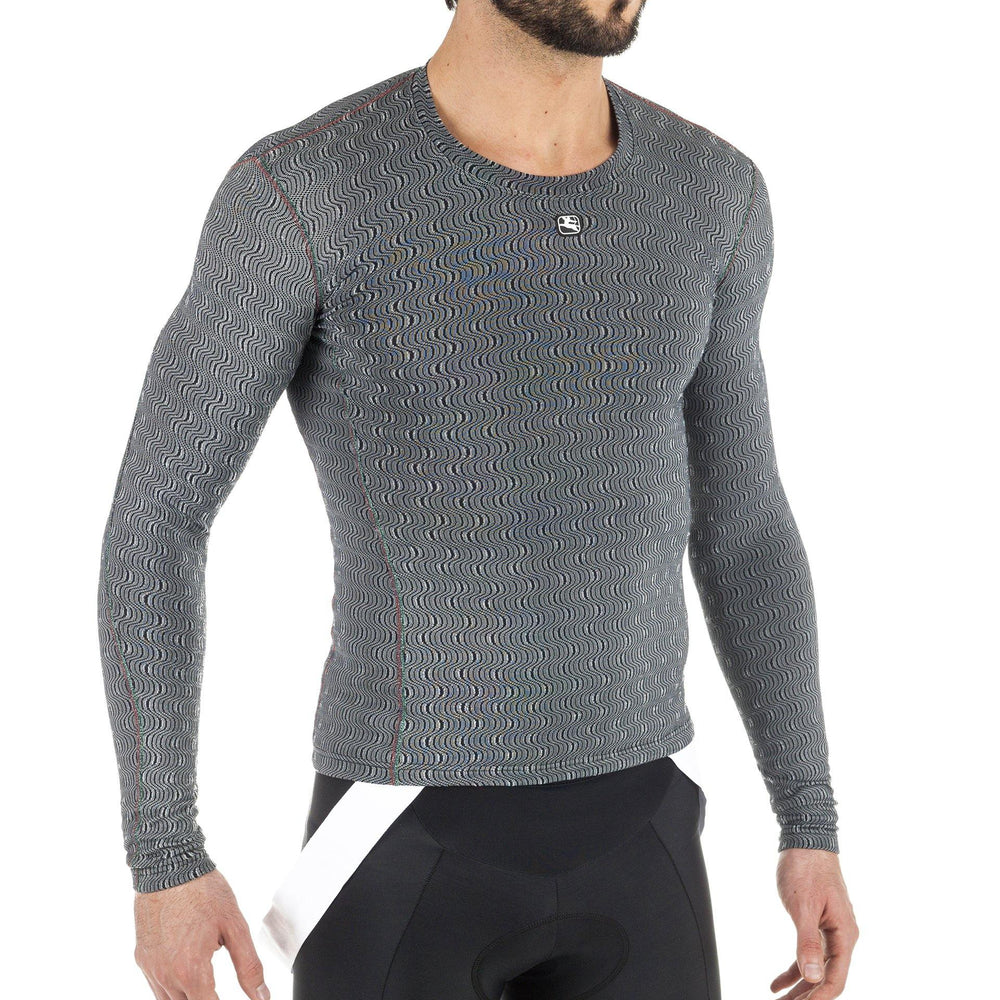 Men's Long Sleeve Ceramic Base Layer - Giordana Cycling