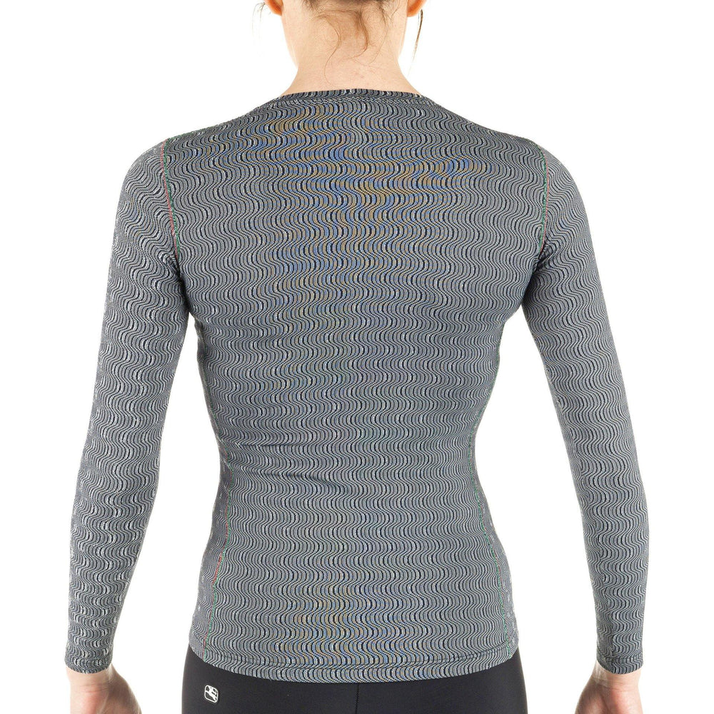Women's Long Sleeve Ceramic Base Layer - Giordana Cycling