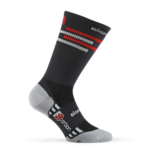 "FR-C Tall ""Lines"" Socks - Giordana Cycling"