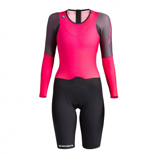 Load image into Gallery viewer, NX-G Women's Long Sleeve Chronosuit - Giordana Cycling