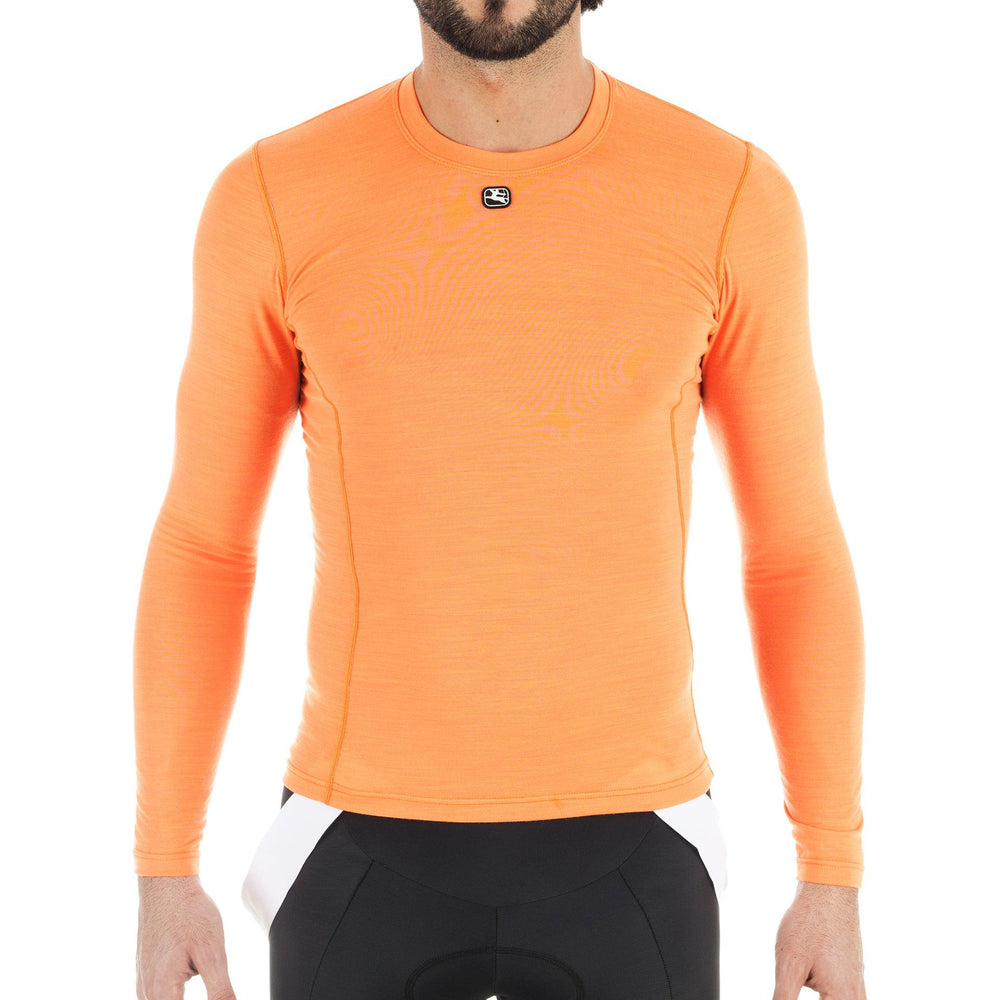 Men's Long Sleeve Merino Wool Blend Base Layer