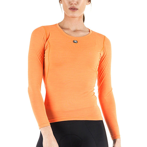 Women's Long Sleeve Merino Wool Blend Base Layer