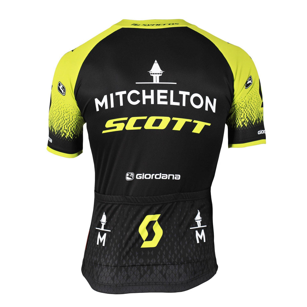 2019 Mitchelton-Scott Vero Pro Short Sleeve Jersey - Giordana Cycling