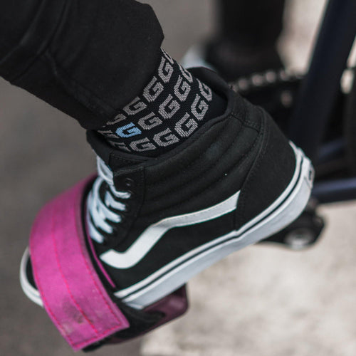 "Giordana x Knowlita ""G"" Black FR-C Pro Sock - Giordana Cycling"