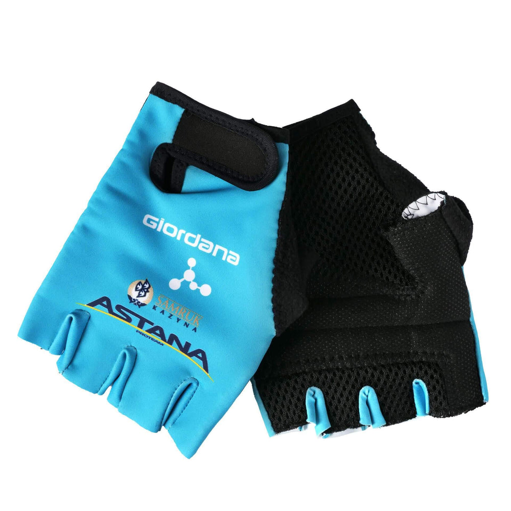 Astana Team Replica Tenax Gloves