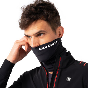 Load image into Gallery viewer, Neck Gaiter, Thermal - Black - Giordana Cycling