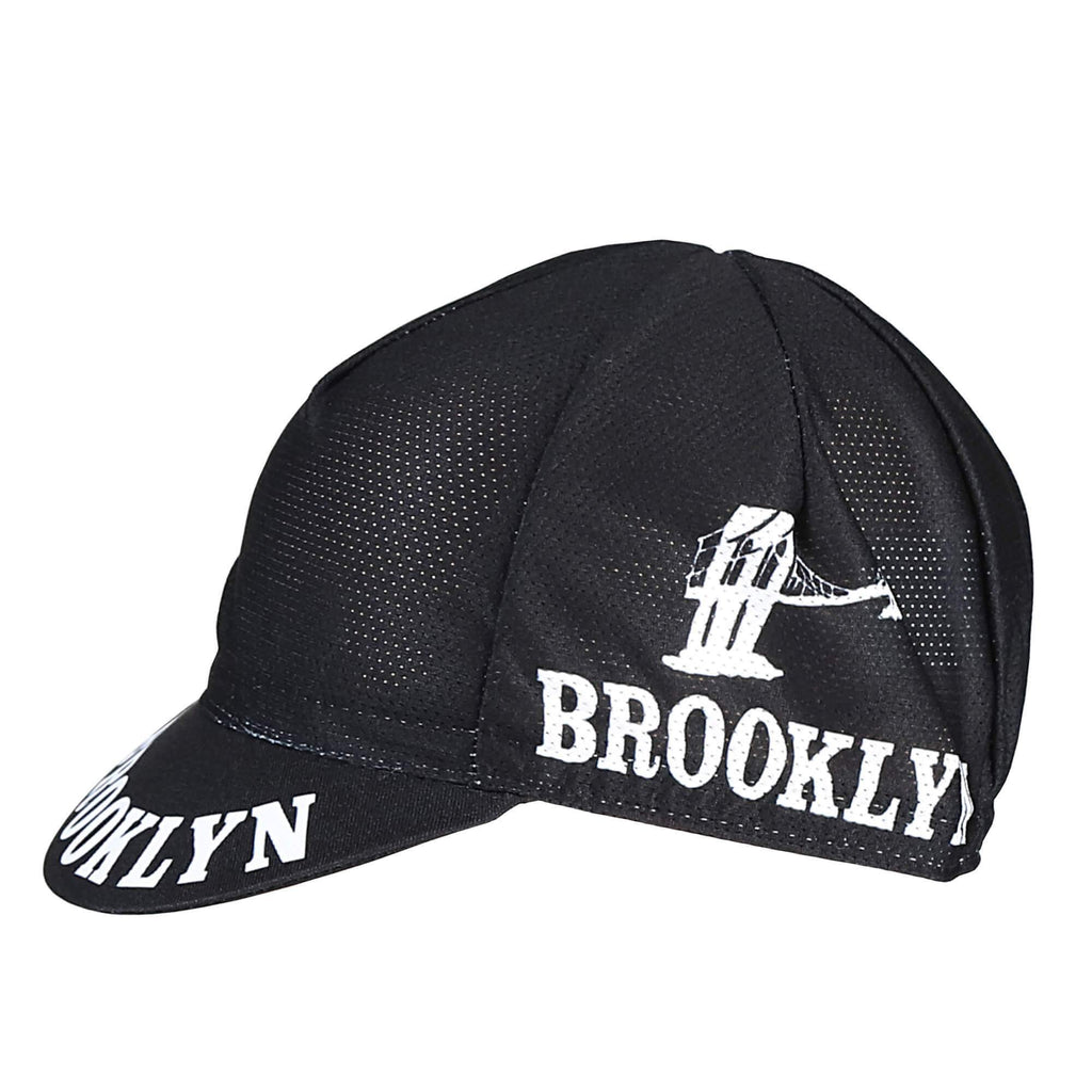 Brooklyn Black Mesh Cycling Cap - Giordana Cycling