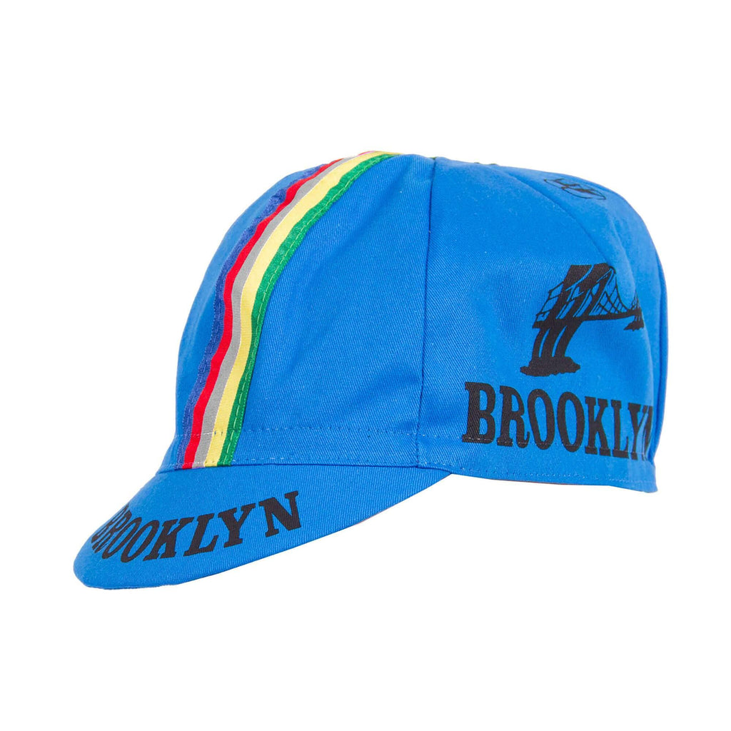 Team Brooklyn Cap - Azzuro Italia Blue - Giordana Cycling
