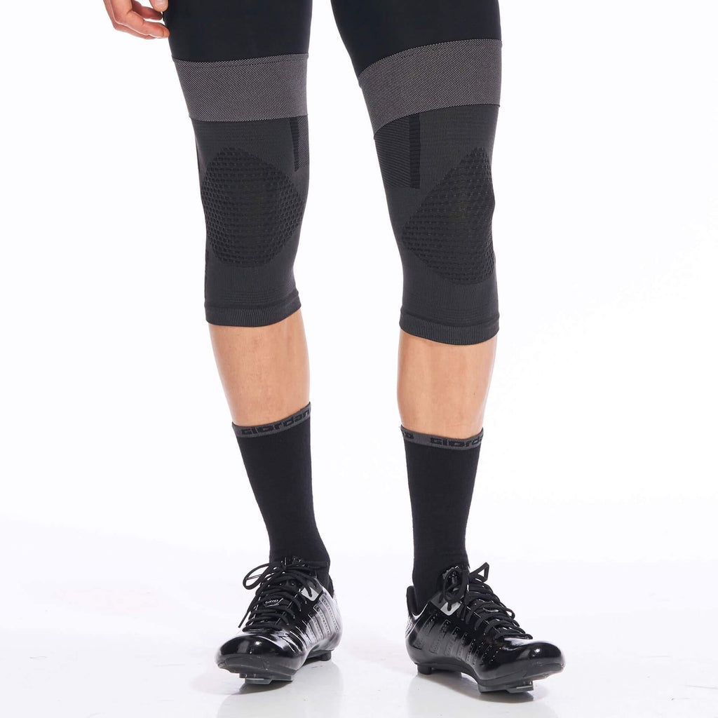 Heavyweight Knitted Dryarn Knee Warmer - Giordana Cycling