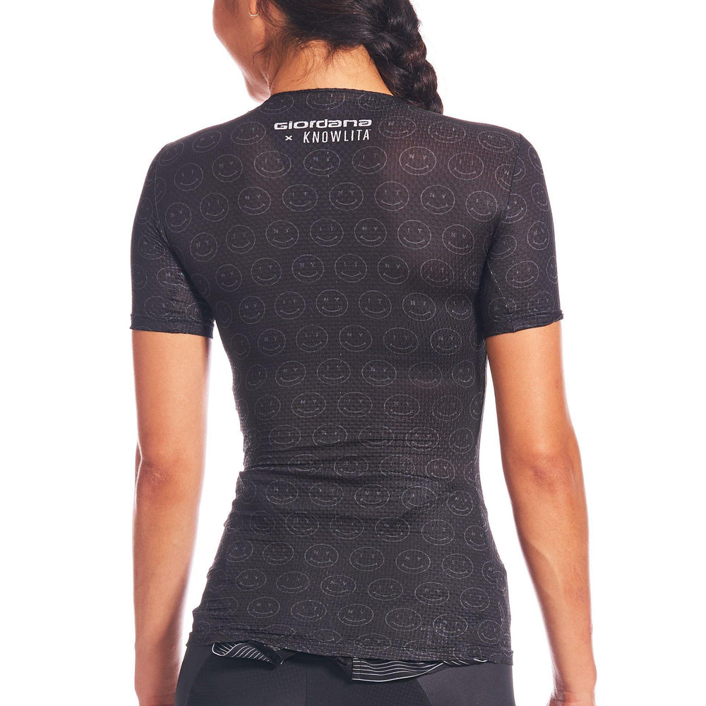 Giordana x Knowlita Smiley FR-C Pro Short Sleeve Base Layer
