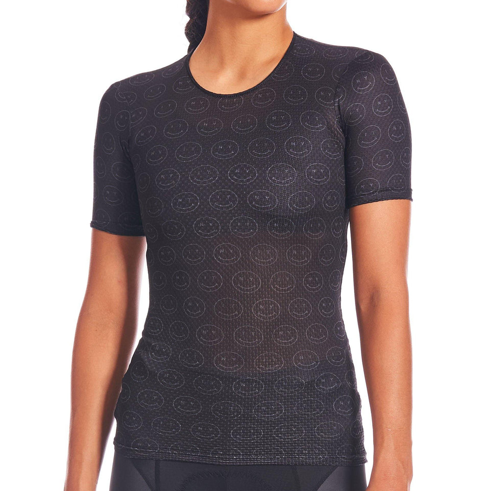 Load image into Gallery viewer, Giordana x Knowlita Smiley FR-C Pro Short Sleeve Base Layer