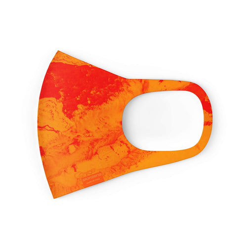 Mask | Arctic - Orange - Giordana Cycling