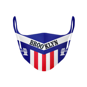 Mask | Brooklyn - Red White and Blue