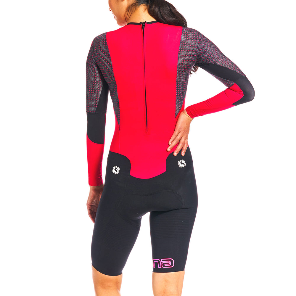 NX-G Women's Long Sleeve Chronosuit - Giordana Cycling