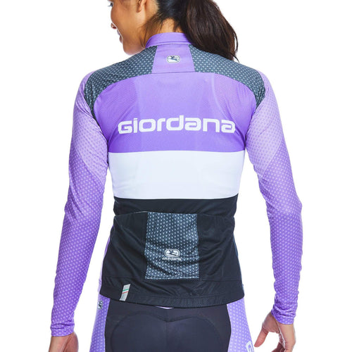 "Moda ""Radio"" Tenax Pro Women's  Long Sleeve Thermal Jersey - Giordana Cycling"