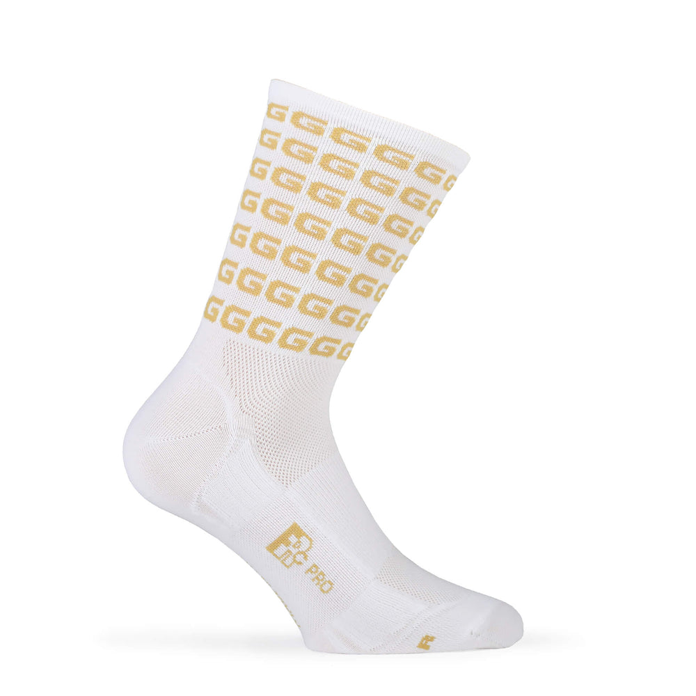 "Load image into Gallery viewer, FR-C Tall ""G"" Sock - White"
