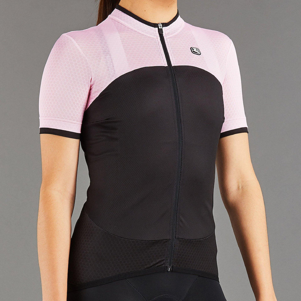 SilverLine Women's Jersey - Black/Pink