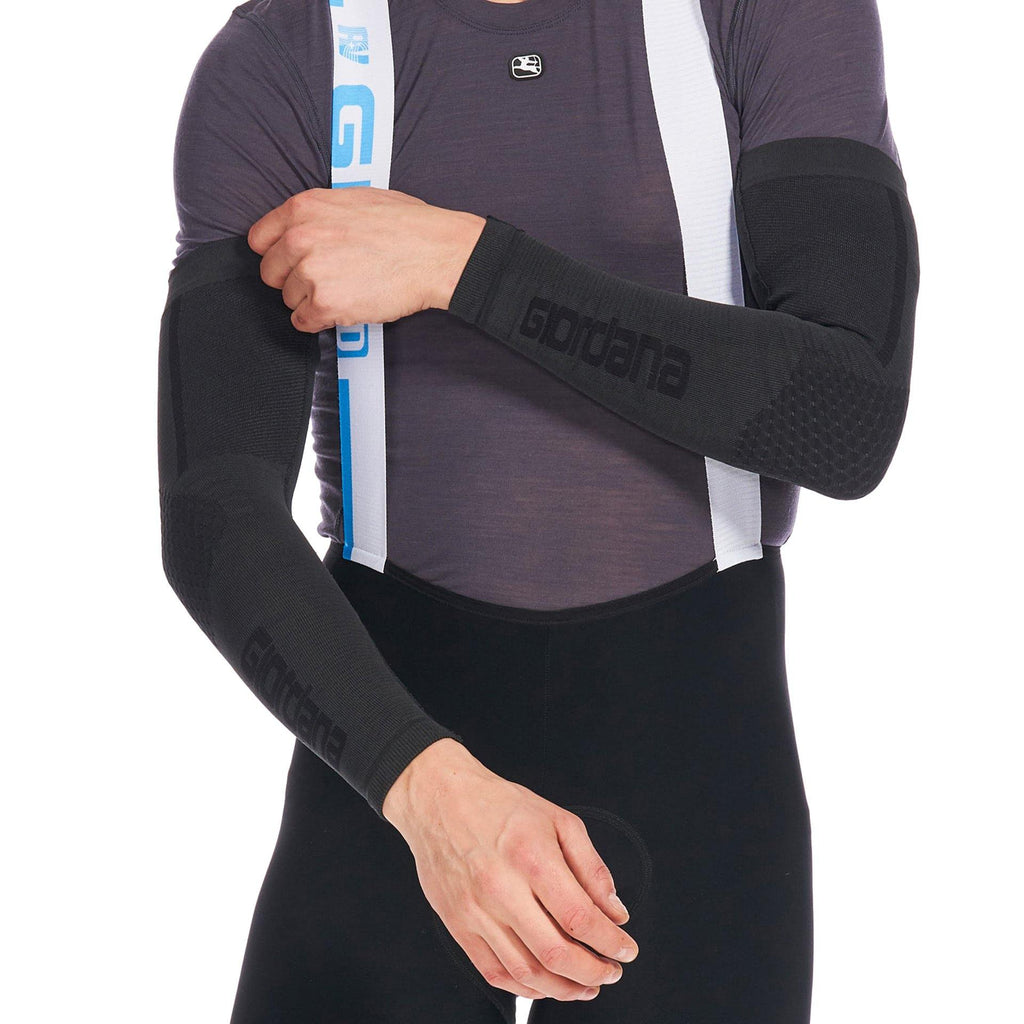 Heavyweight Knitted Dryarn Arm Warmer - Giordana Cycling