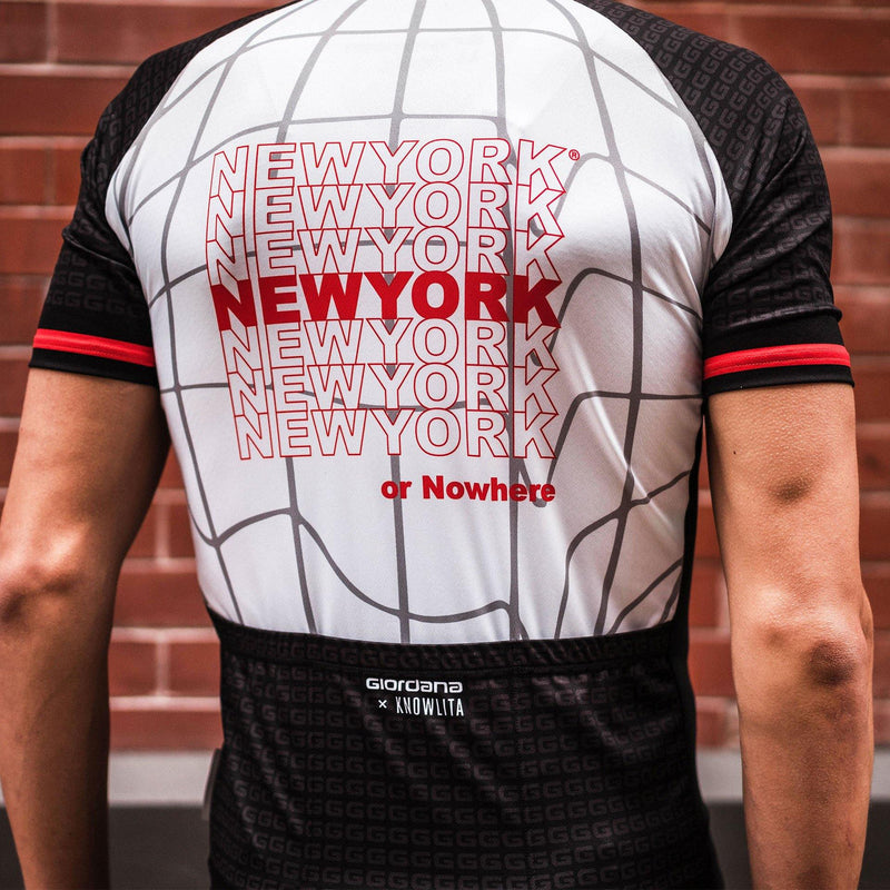 Giordana x Knowlita NEW YORK OR NOWHERE® Vero Pro Men's Jersey - Giordana Cycling