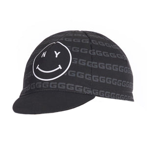 Load image into Gallery viewer, Giordana x Knowlita New York Smiley Cotton Cap - Giordana Cycling