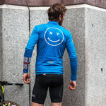 Giordana x Knowlita New York Smiley Wool Long Sleeve Jersey - Giordana Cycling