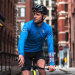 Giordana x Knowlita New York Smiley Wool Long Sleeve Jersey
