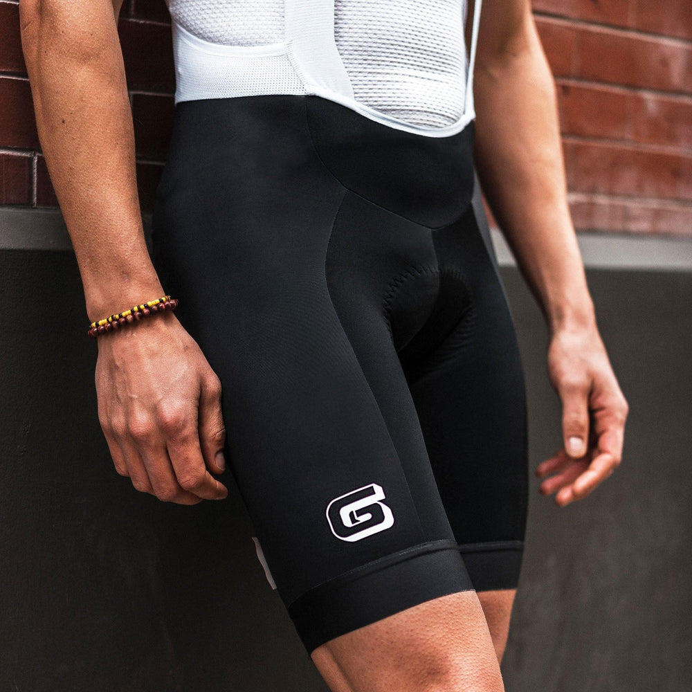 "Giordana x Knowlita ""G"" Black Vero Pro Men's Bib Short - Giordana Cycling"