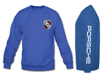 Porsche Crewneck Sweatshirt with sleeve blue