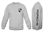 Porsche Crewneck Sweatshirt with sleeve gray
