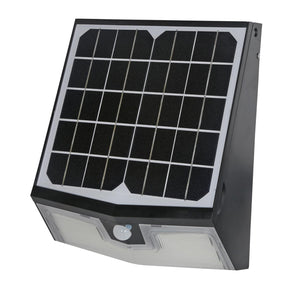 Solar Powered LED Wall Pack Motion Light, 1500 Lumen, 6000K Color, 2 Year Warranty - Green Solar LED