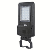 LED Street Light Solar Powered Area Lighting, 1600 Lumen, Color 6000K, IP65, 2 Year Warranty - Green Solar LED