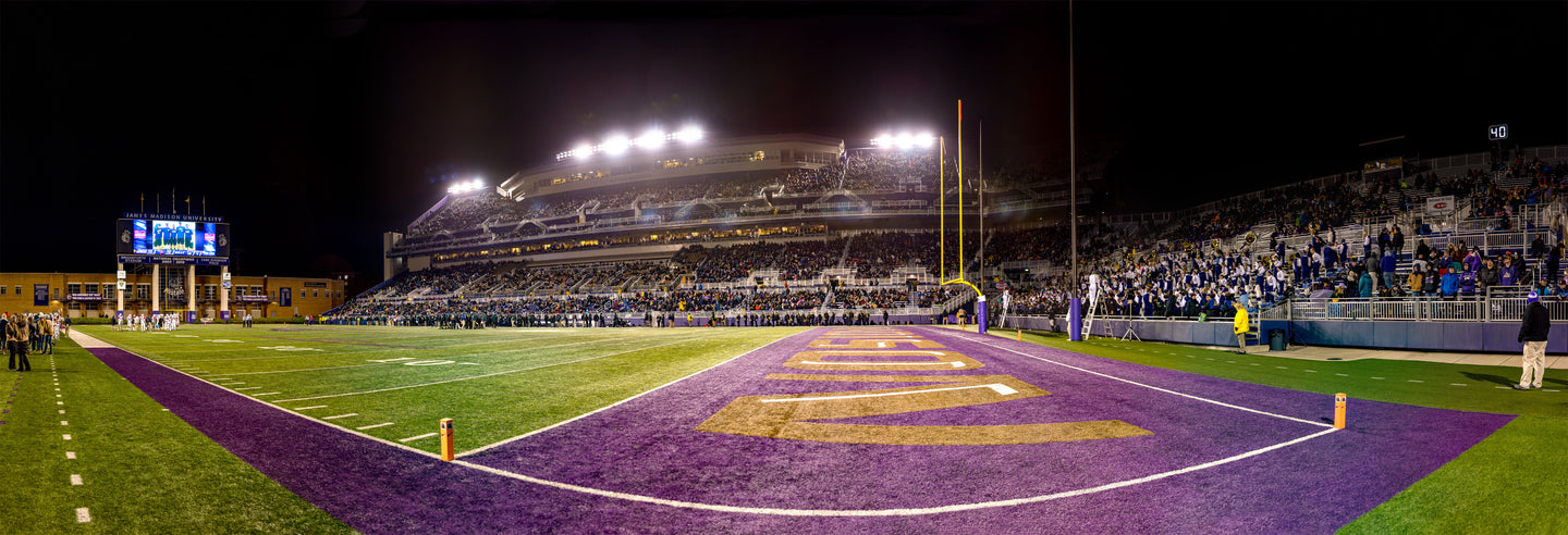 Bridgeforth Stadium, November 11, 2017, Senior Day