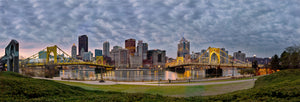 Pittsburgh, PA Cityscape from the North Shore