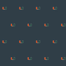 University of Miami Logo Wallpaper