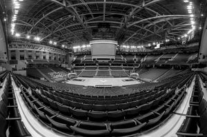 UVA Basketball - JPJ Arena Empty - Half Court