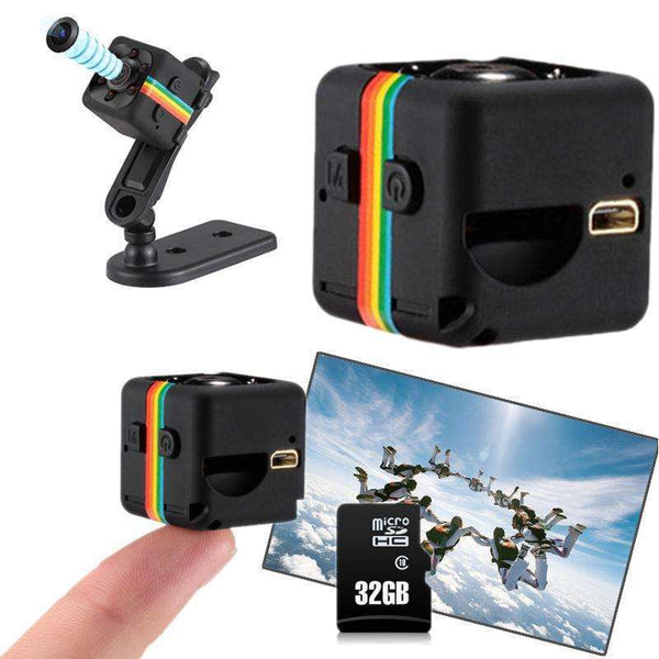 Mini Camera with Video 1080P HD DVR