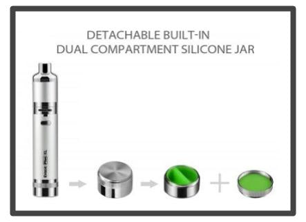 yocan evolve xl wax container