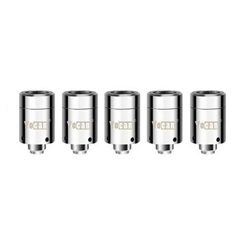 Yocan Loaded Dual Quartz Coil - 5 Pack