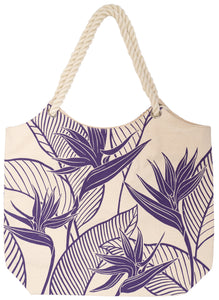 Acai Purple -  Canvas Tote