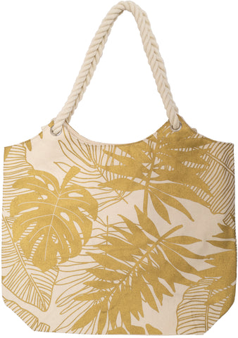 Revival Nat/Gold Canvas Tote