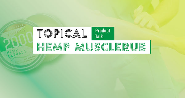 Topical Hemp Extracts for Inflammation