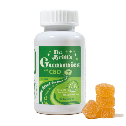 Doctor Britt's CBD Gummies Product Image