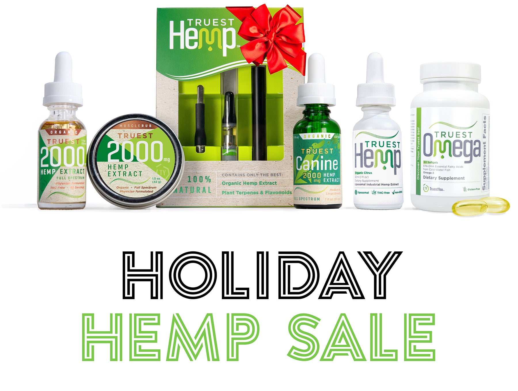 TruestYou Holiday Hemp Sale