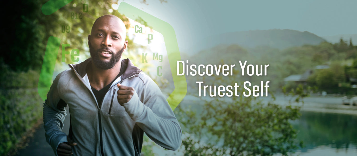 TruestYou Discover Your Truest Self Running Man Exercising Image