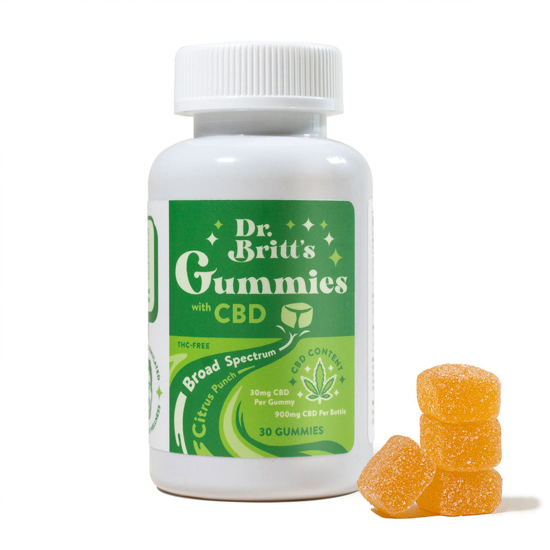 DR. BRITT'S 30MG CBD GUMMIES - CITRUS PUNCH