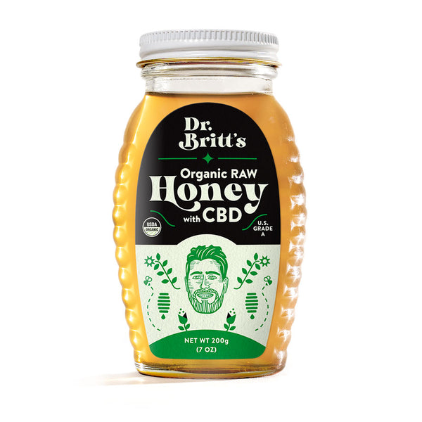 Dr. Britt's Organic Raw Honey with CBD