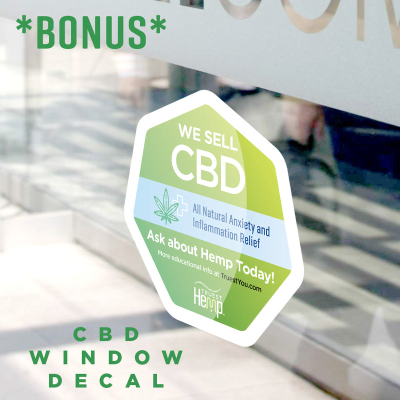 Doctor office CBD Window Sticker