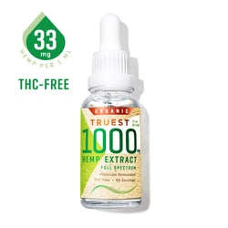 TruestYou TruestHemp 1000mg Tincture 30ml