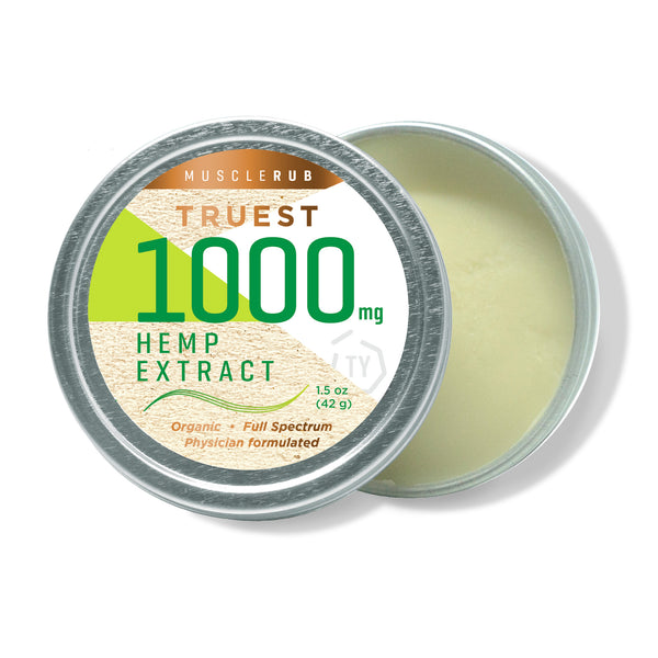 1000 mg Hemp MuscleRub