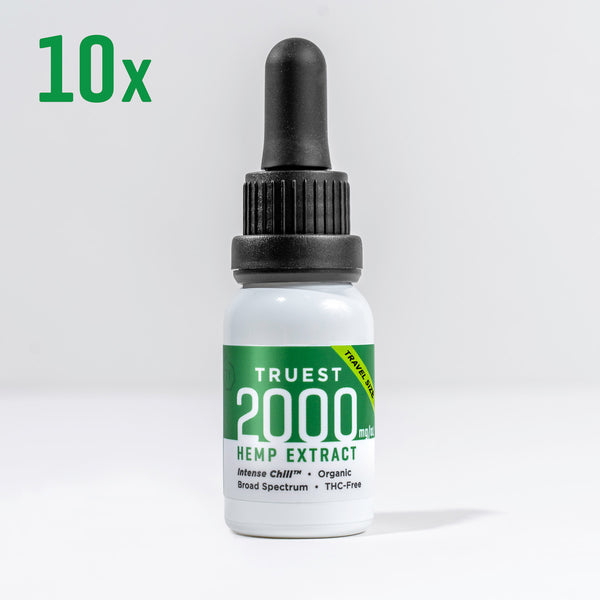 2000 mg - Travel Size 10 Pack